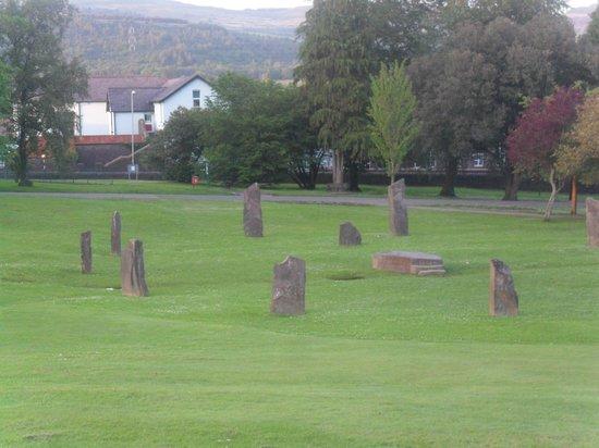 Aberdare Park: Gordedd Circle