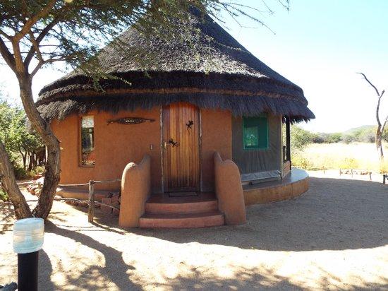Okonjima Bush Camp: Superb traditional House
