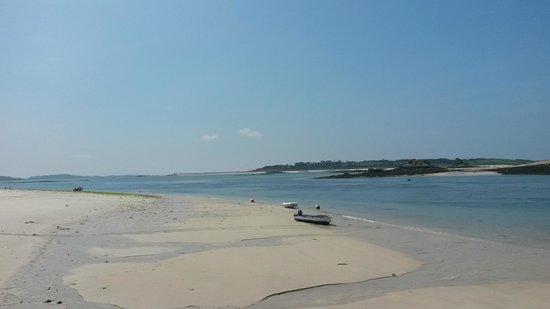 St Martin's Campsite : St Martins beaches