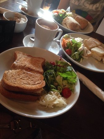 Cafe Portico : Our lunch