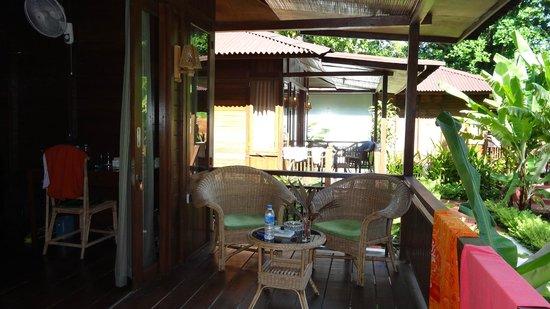 Froggies Divers Bunaken : terrasse