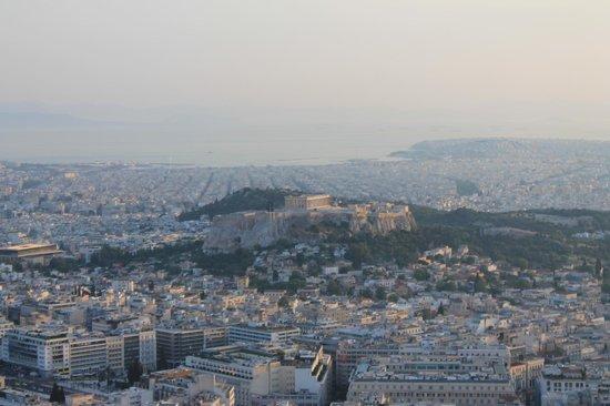 Mount Lycabettus : View from Mt.Likavitos