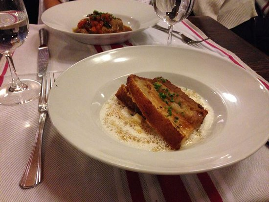 La Regalade: one of our main dishes