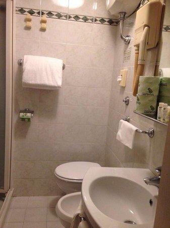 Hotel Cosimo de'Medici: Ottimo bagno