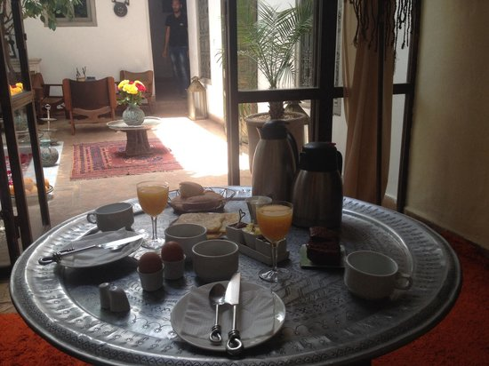 Riad Dar Thania : Miss this great breakfast everyday !