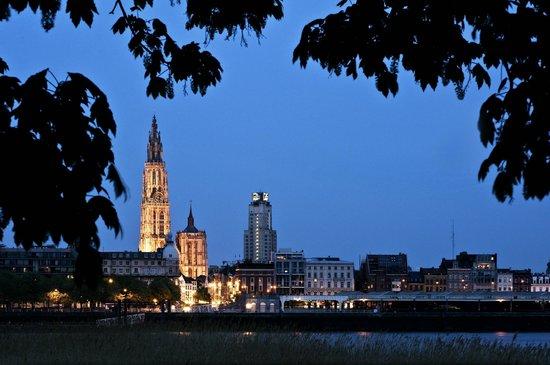Radisson Blu Astrid Hotel, Antwerp : Skyline Antwerpen