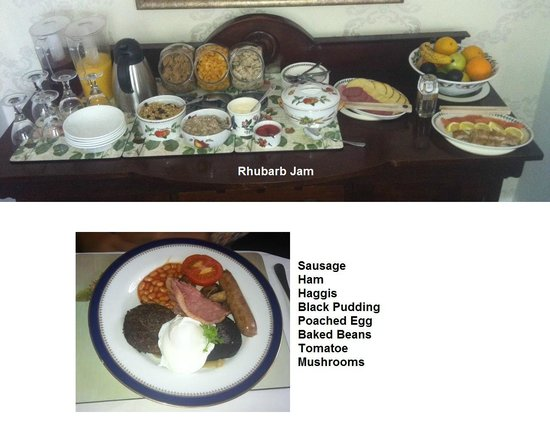 Northlands Bed and Breakfast: Delicious and Filling Breakfast at Northlands B&B