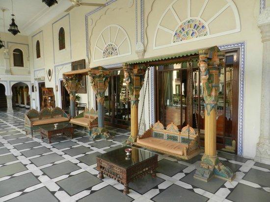The Raj Palace: Espace de détente