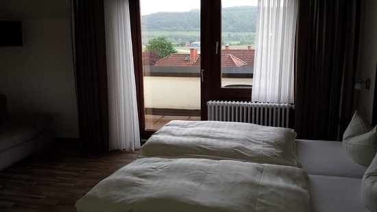 Hotel Kaiser: Balcony with a nice view