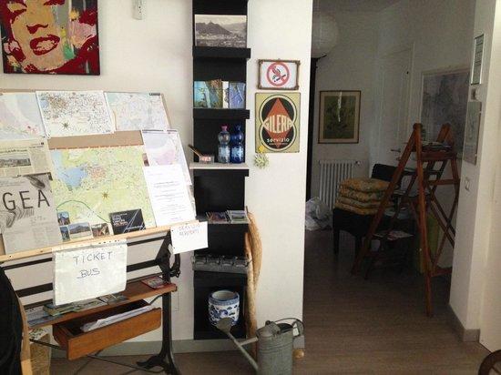 Casa Cantoniera Como: Reception