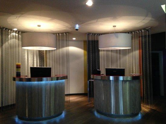 G&V Royal Mile Hotel Edinburgh : Recepção