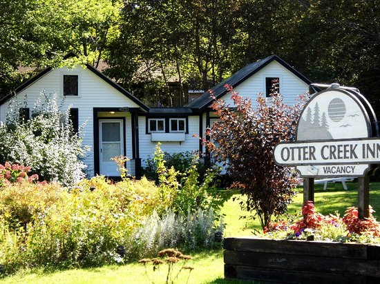 Otter Creek Inn: our cozy cabins