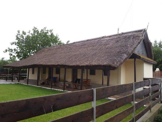Danube Delta: Tipical local fishermen house