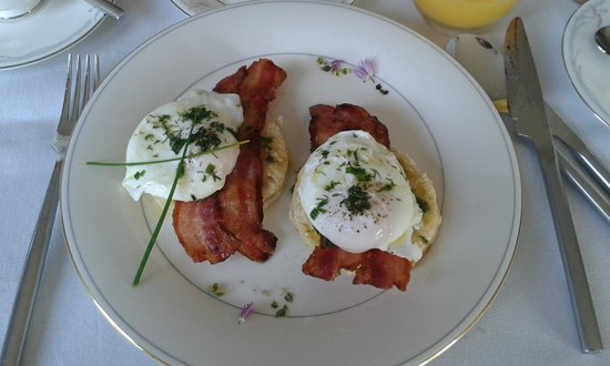 The Whins B&B : eggs whinslet