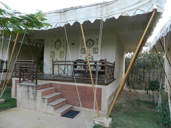 The Greenhouse Resort: Vue sur le bungalow