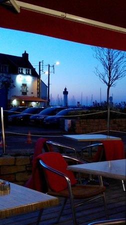Hotel Port Haliguen : Vue du restaurant l'Atlantique