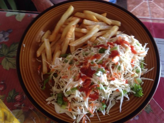 Soda y Nanyoa: Enchilada Pollo!