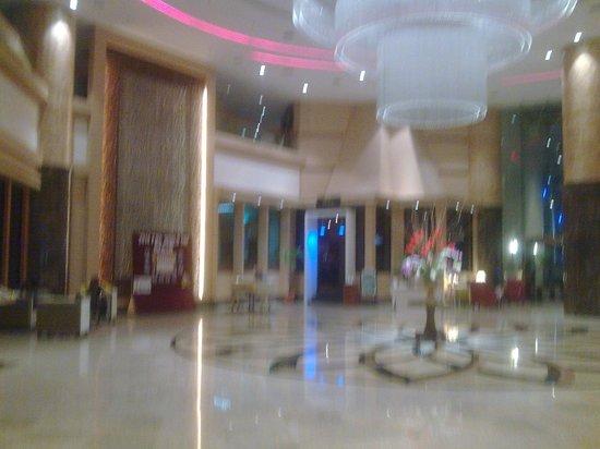 The Puteri Pacific Johor Bahru: the lobby...