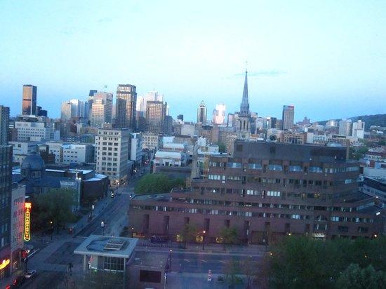 Hotels Gouverneur Montreal: Vue du centre ville depuis notre chambre