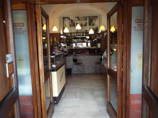 Il Maggese Ristorante Pizzeria: l'ingresso