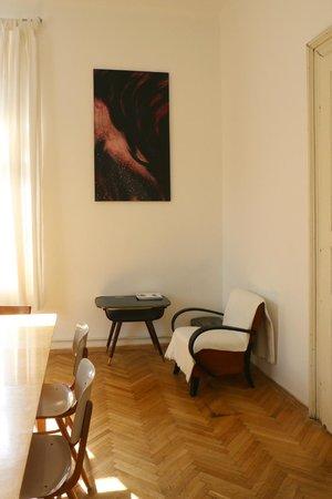 Hostel Lipa: Common room