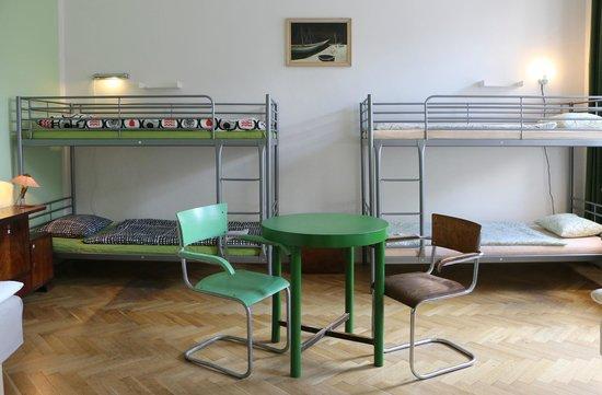 Hostel Lipa: Green room (6-bed dormitory)