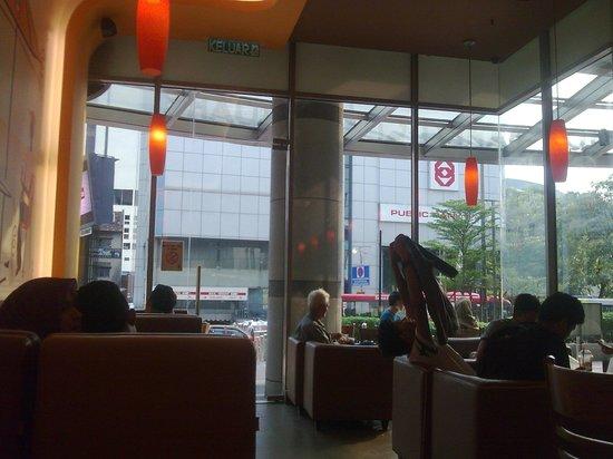 Johor Bahru City Square: Jco donuts...