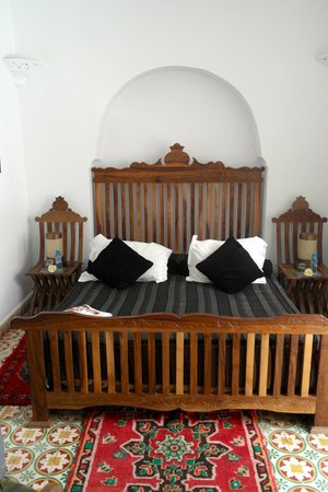 Riad Malaika : Bed