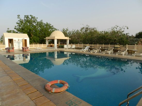 Mirvana Nature Resort and Camp: Piscine