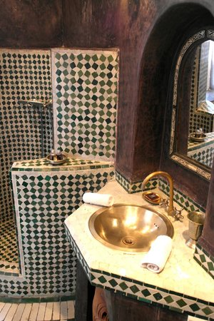 Riad Malaika : Bathroom