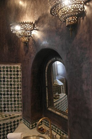 Riad Malaika : Bathroom interior