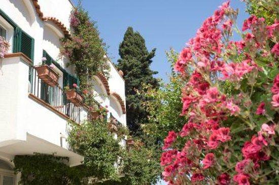 Hotel Villa Melodie: camera vista giardini