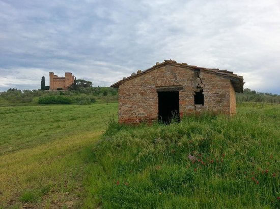 Castello delle Quattro Torra : I took this picture of the castle during my morning walk.