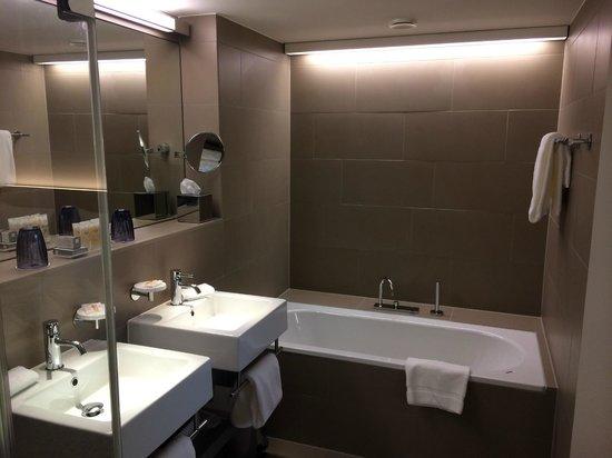Pullman Basel Europe Hotel: SdB