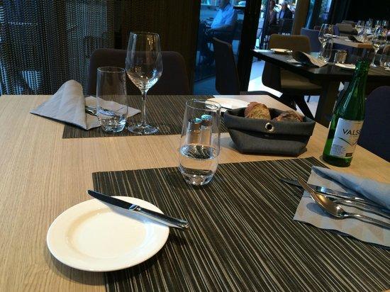 Pullman Basel Europe Hotel : Salle à manger