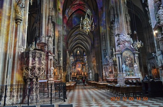 Stephansdom: 一昨年のシュテファン大聖堂
