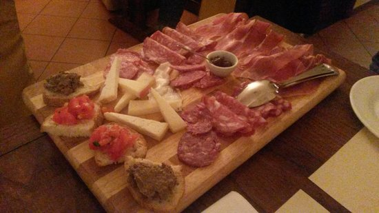 Cantina Barbagianni: Tagliere