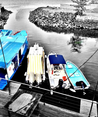 boat parking zone @ city extra restaurant