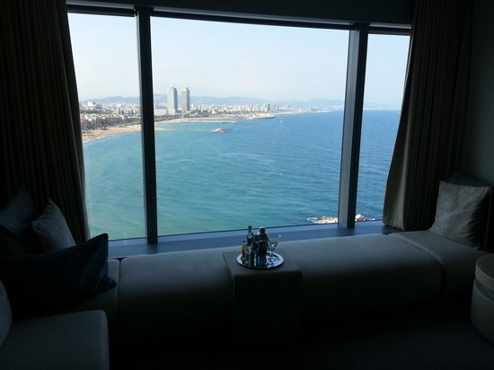 W Barcelona: Room with a view