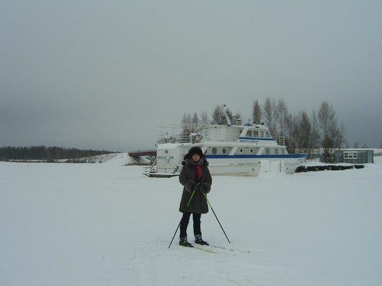 Breytovo, Russia: Около отеля