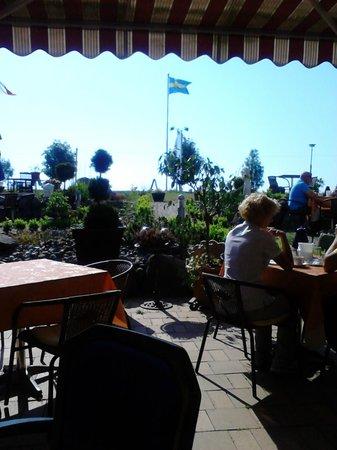 Aparthotel Koenigslinie: View from restaurant