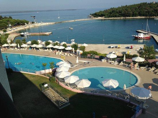 Island Hotel Istra : View!!