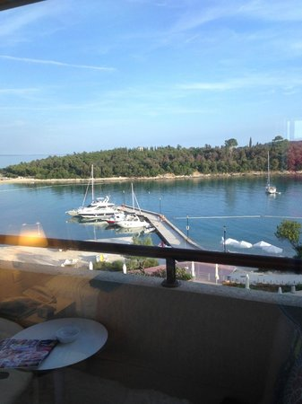 Island Hotel Istra: View out of our room! Cant complain!
