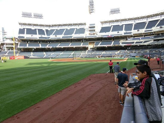 Petco Park: Before the game starts