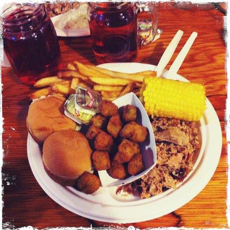 Woodlands Barbeque Restaurant & Catering Service: BBQ pork