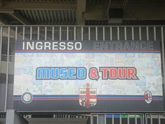 Stadio Giuseppe Meazza (San Siro) : Museo Inter&Milan.