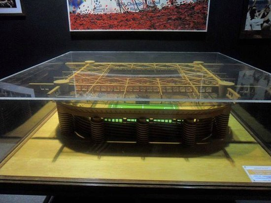 Stadio Giuseppe Meazza (San Siro) : Miniatura dello stadio.