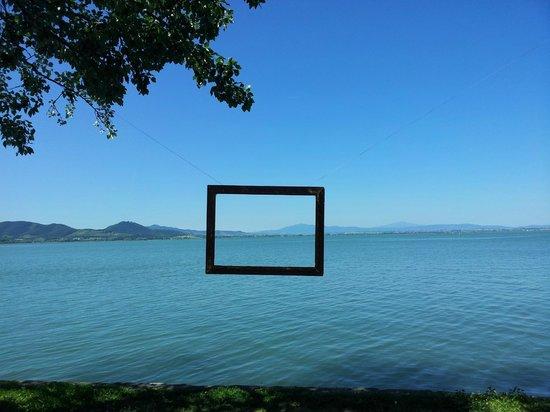 """Lago Trasimeno: san feliciano e il suo """"quadro"""""""