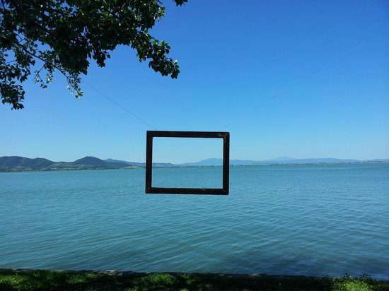 Quadro lago viola stampa su tela canvas arredamento psgo