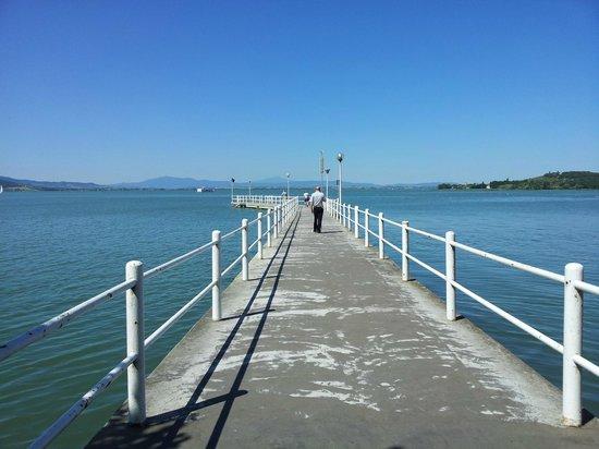 Lago Trasimeno: passerella
